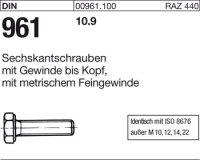 DIN961 M12x1,5x55