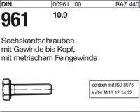 DIN961 M12x1,25x20