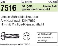 DIN7516 AM8x16-H