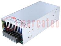 Tápegység: impulzusos; modul; 600W; 5VDC; 218x105x63,5mm; 120A
