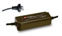 MEAN WELL PWM-60-24 adattatore e invertitore Universale 60 W Nero