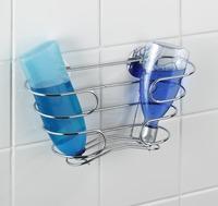 WENKO Turbo-Loc Shampoo-Ablage, Befestigen ohne bohren bei Mercateo ...