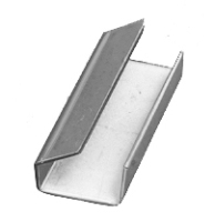 Verschlusshülsen PP / WG halboffen, verzinkt HUC 13 x 33 x 0,6 mm