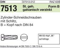 DIN7513 BM6x20