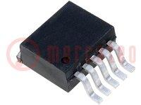 Spanningsstabilisator; niet regelbaar; 0,6÷5V; 3A; TO263-5; SMD