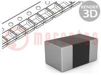 Widerstand: thin film; präzise; SMD; 0402; 1,5kΩ; 62,5mW; ±0,1%