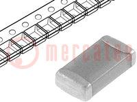 Condensador: cerámico; MLCC; 220pF; 50V; C0G; ±5%; SMD; 1206