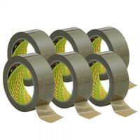 Scotch© Premium Packband, für schwere Kartons, braun, stabil, 1 VE=6, 66mx50mm