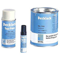 Decklack, grau RAL 7035, Stift, 12 ml