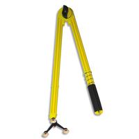 SAFETOOL Compas en plastique incassable jaune 50cm 3 pieds ventouse et porte craies marqueur tableau