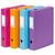 VIQUEL Boite de classement CLASSDOC, en polypropylène 8/10ème, dos 6cm, coloris assortis