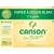 CANSON Pochette de 12 feuilles de papier dessin C A GRAIN 224g 24x32cm Ref-27103