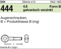 Augenschrauben BM6x25