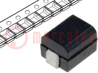 Drossel: Draht; SMD; 1210; 10uH; 150mA; 2,1Ω; IRes:30MHz; Q:30; ±5%