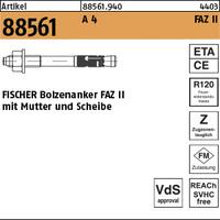 ART 88561 FISCHER-Ankerbolzen A 4 FAZ II 16/100 VE=S (10 Stück)