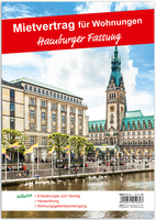 Mietvertrag Für Wohnraum Hamburger Fassung 12 Seiten Gefalzt Auf