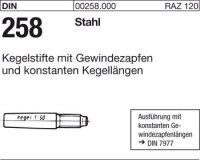 Kegelstifte 8x65