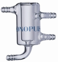 Flow-through cell for SONOPULS Ultrasonic homogenisers stainless steel Type DG 4 G (flow-through)