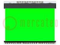 Achtergrondverlichting; Bestemming: EADOGXL160; LED; 78x64x3,8mm