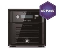 Buffalo TeraStation 5200DSP 2Bay IP camera recording NAS for AXIS, 4TB WD Purple Bild 1
