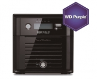 Buffalo TeraStation 5200DSP 2Bay IP camera recording NAS for AXIS, 4TB WD Purple Bild 1