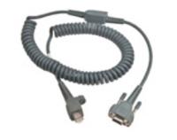 Intermec 6.5ft RS232 9-Pin seriële kabel Grijs 2 m D-sub 9-pin