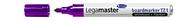 Legamaster Boardmarker TZ 1, 1,5 - 3 mm, Violett, 10er Karton