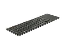 Tastatur WLAN für Smart TV und PC / Notebook mit Touchpad 6 mm flach, Delock® [12454]