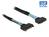 Verlängerungskabel U.2 SFF-8639 Stecker an SFF-8639 Buchse, 0,5m, Delock® [84829]