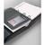 DURABLE Sachet 10 Pochettes adhésives Pocketfix Plus avec rabat pour carte de visite 90 x 57 mm