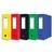 ELBA Boîte de classement EUROFOLIO carte lustrée, dos 9 cm, fermeture velcro, 24x32 cm, coloris assortis