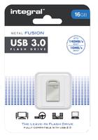 USB-STICK INTEGRAL FD 16GB METAL FUSION 3.0