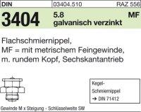 Flachschmiernippel M8x1SW17
