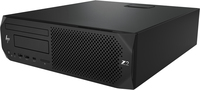 HP Z2 G4 Intel® 8de generatie Core™ i7 i7-8700 8 GB DDR4-SDRAM 1000 GB HDD SFF Zwart Workstation Windows 10 Pro