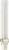 Kompaktleuchtstofflampe 9W G23 wws PL-S 9W/830/2P