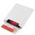 COLOMPAC Pochette d'expédition blanc 16 x 17,5 cm pour maxi 2 CD avec boitier