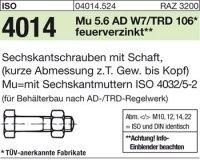 ISO 4014 5.6 M24 x 100|mm