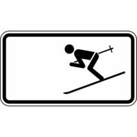 Modellbeispiel: VZ Nr. 1010-11, (Wintersport erlaubt)
