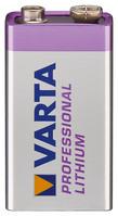 Batterie Lithium 9-Volt Block Varta (6122) - Professional Lithium