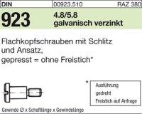 DIN923 M6x3x9,0