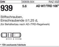 DIN939 5.6 M12x35