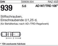DIN939 5.6 M16x60