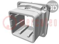 Carcasa: para conectores rectangulares; Han; tamaño 3A; EMC