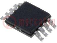 Műveleti erősítő; 560MHz; 4,5÷24VDC; Csatorna:1; MSOP8