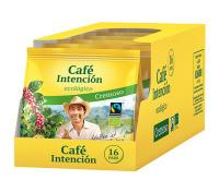 Café Intención BIO Kaffeepads ecológico Cremoso 6 x 16er (672 g)