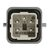 HARTING Han A, Male Schwere Steckverbinder, 4 + PE-polig, 230 → 400 V. / 10.0A