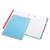Cahier de texte reliure intégrale 17x22cm 124 pages grands carreaux Séyès couverture polypro assortie