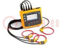 3-fase energieopname-apparaat; Interface: Bluetooth, USB A, WiFi
