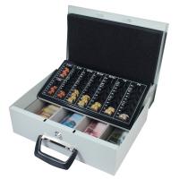 Geldkassette mit Euro-Münzzählbrett