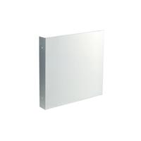Modellbeispiel: Fahnenschild Quadrat, hier: zur Wandmontage, (Art. 51.9557)